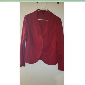 Red blazer, size L